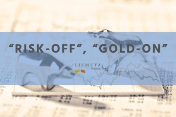 The flight to quality is clearly evident with gold shining in its role as a safe-haven-asset during the week
