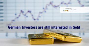 German investors interest in gold